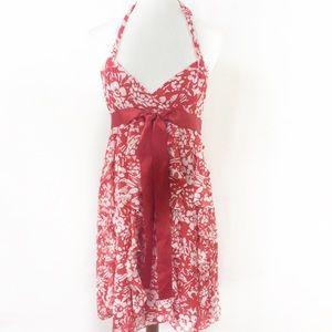 🔴 SOLD 🔴 Eliza J Floral Print Halter Dress
